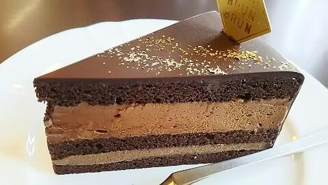 ブランブリュンチョコレートかき氷 (3)