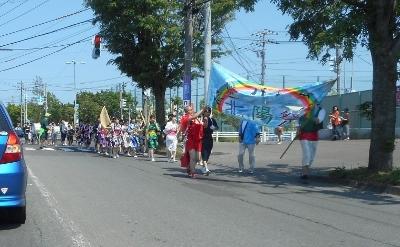 真夏の学園祭