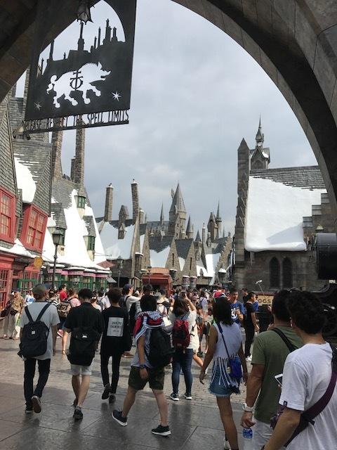ハリー城①