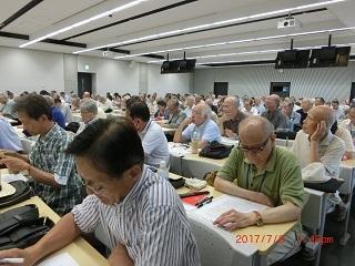 8月会報吉田先生風景2