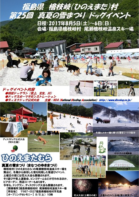 2017 真夏の雪まつりポスター1