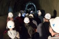 Xアームトンネルは全長3km。