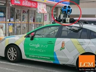 グーグルマップの車