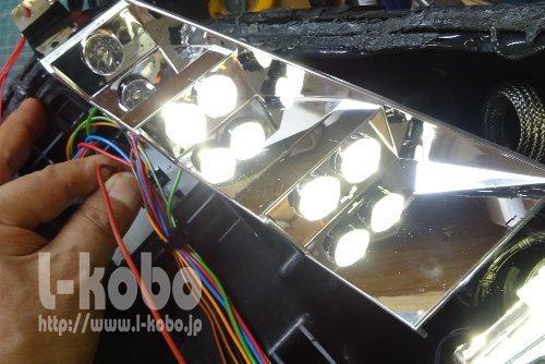 フェラーリヘッドライト修理3