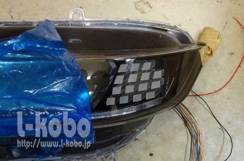 S660ヘッドライト加工
