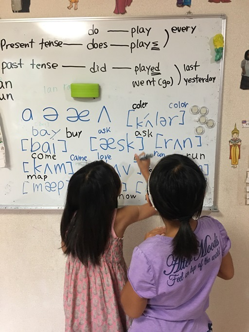 発音記号の練習