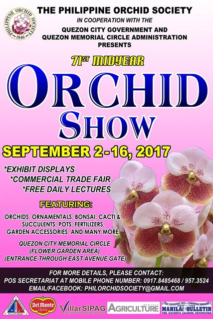 s-2017 Orchid show