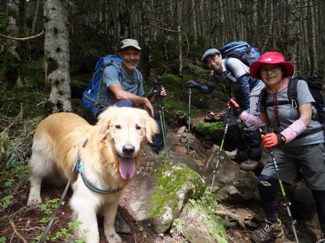 茶臼山と縞枯山 2017.8.4 270