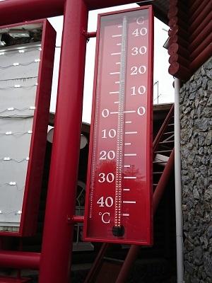 サンタクロース村 気温 8月下旬