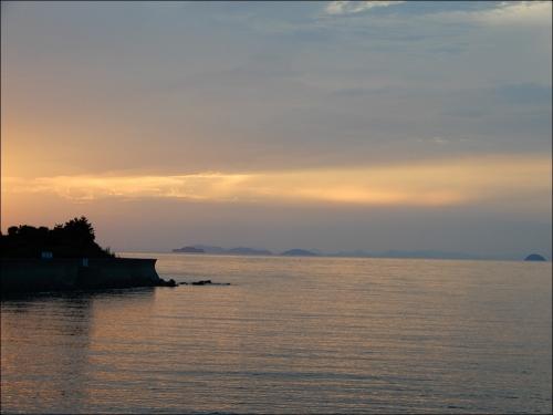 瀬戸内海の海
