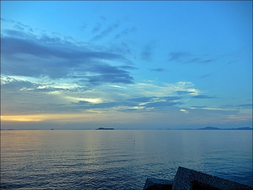 瀬戸内海の海2