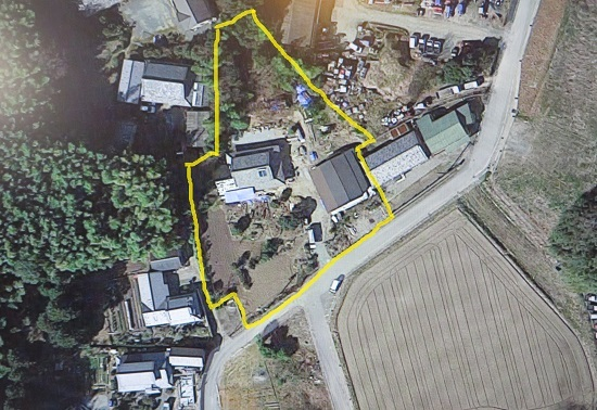 池村の家、全景・新1