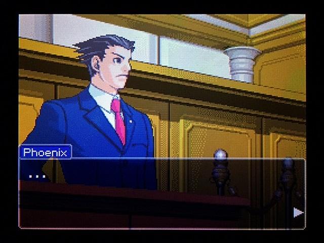 逆転裁判2 北米版 弁護士以下の男4