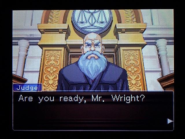 逆転裁判2 北米版 弁護士以下の男12