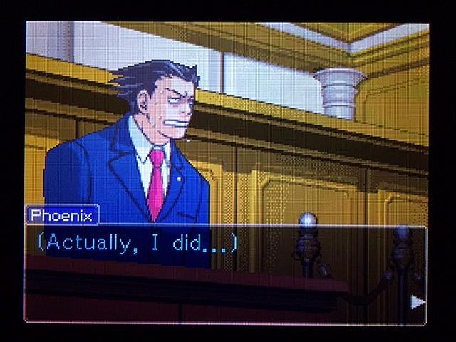 逆転裁判2 北米版 弁護士以下の男18