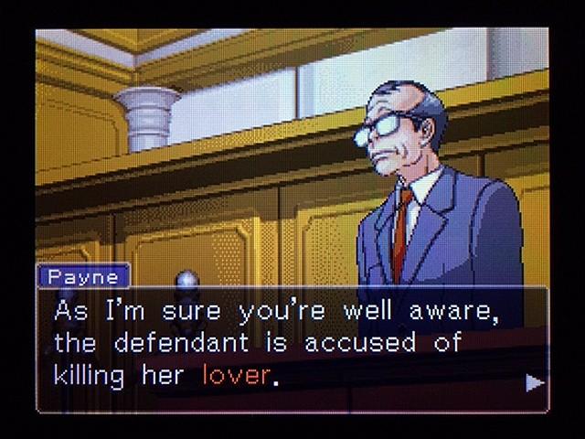 逆転裁判2 北米版 弁護士以下の男21