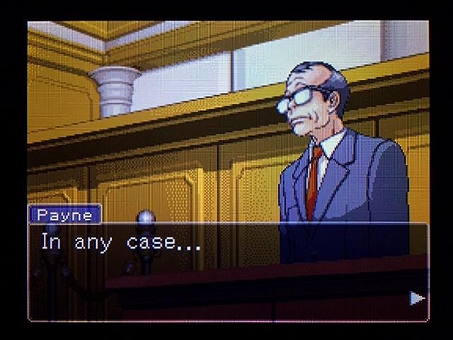 逆転裁判2 北米版 弁護士以下の男25