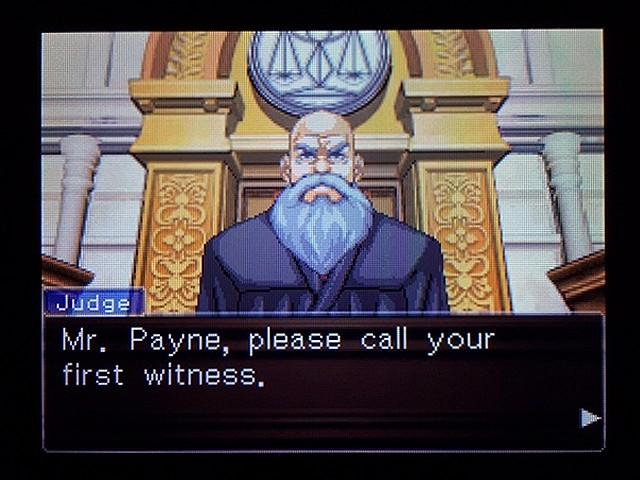 逆転裁判2 北米版 弁護士以下の男27