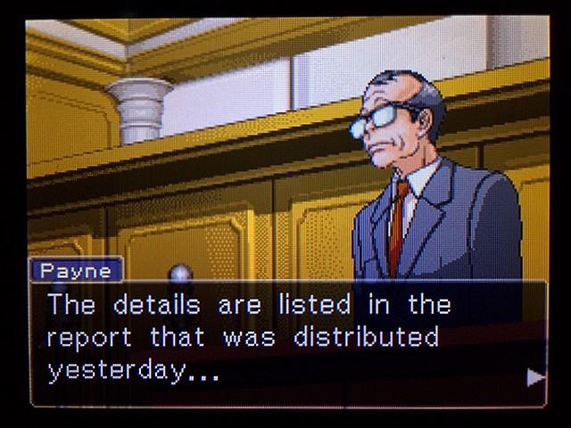 逆転裁判2 北米版 ディテクティブ・ガムシュー入廷14