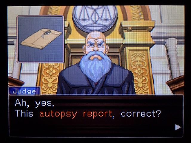 逆転裁判2 北米版 ディテクティブ・ガムシュー入廷15