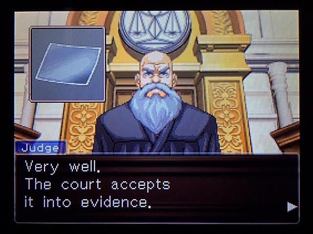 逆転裁判2 北米版 ディテクティブ・ガムシュー入廷22