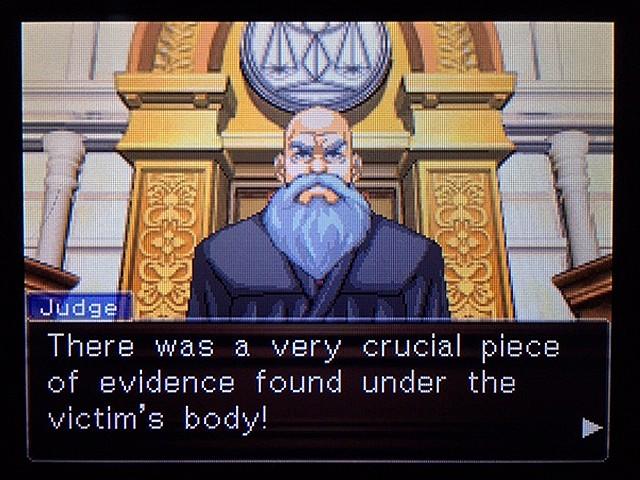 逆転裁判2 北米版 ディテクティブ・ガムシュー入廷30