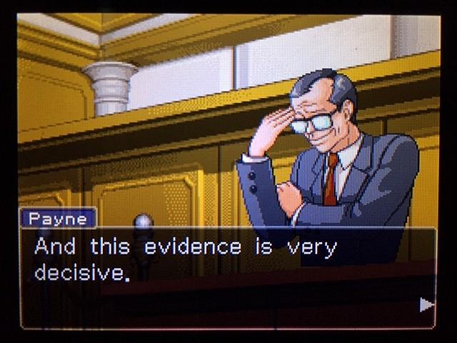 逆転裁判2 北米版 ディテクティブ・ガムシュー入廷62
