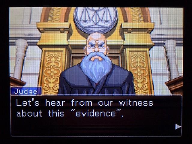 逆転裁判2 北米版 ディテクティブ・ガムシュー入廷64
