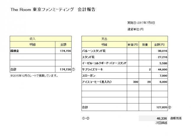 豊洲ファンミ会計2