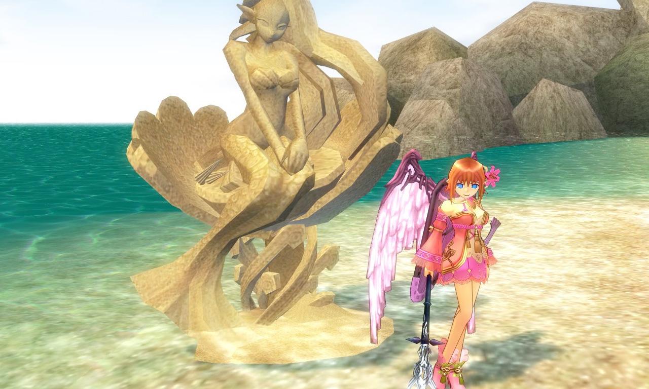 砂の彫刻0