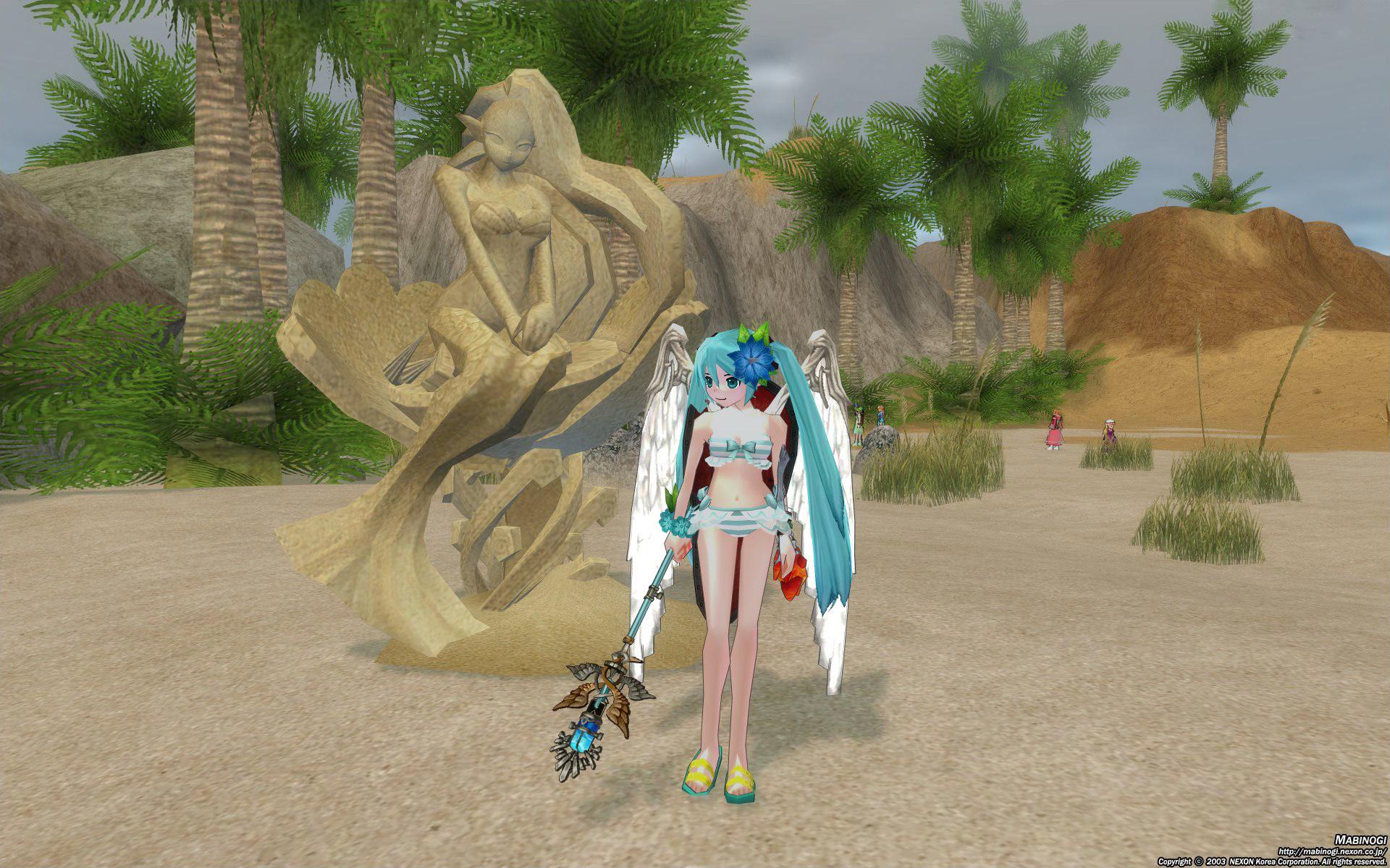 コンヌースの砂祭り2