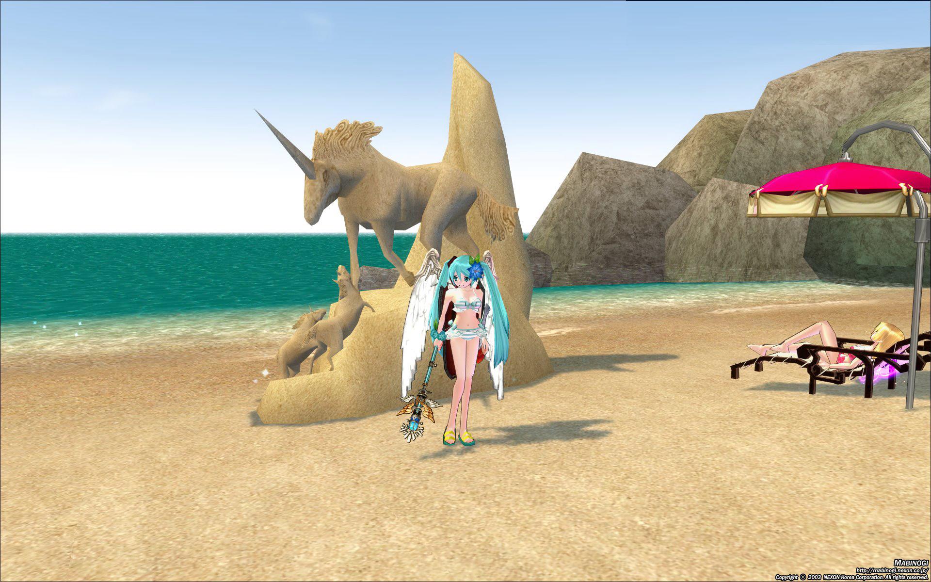 コンヌースの砂祭り4