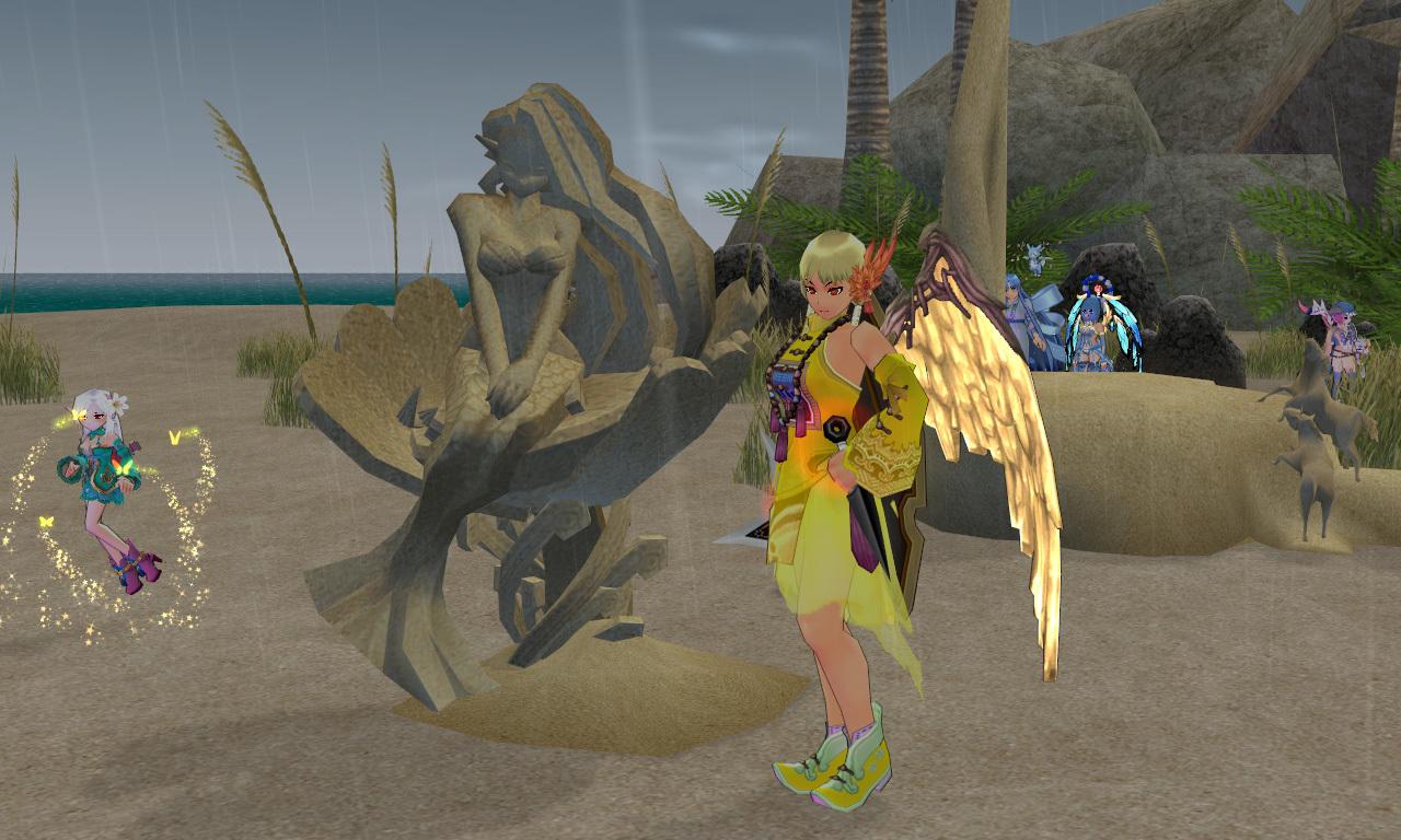 砂の彫刻2
