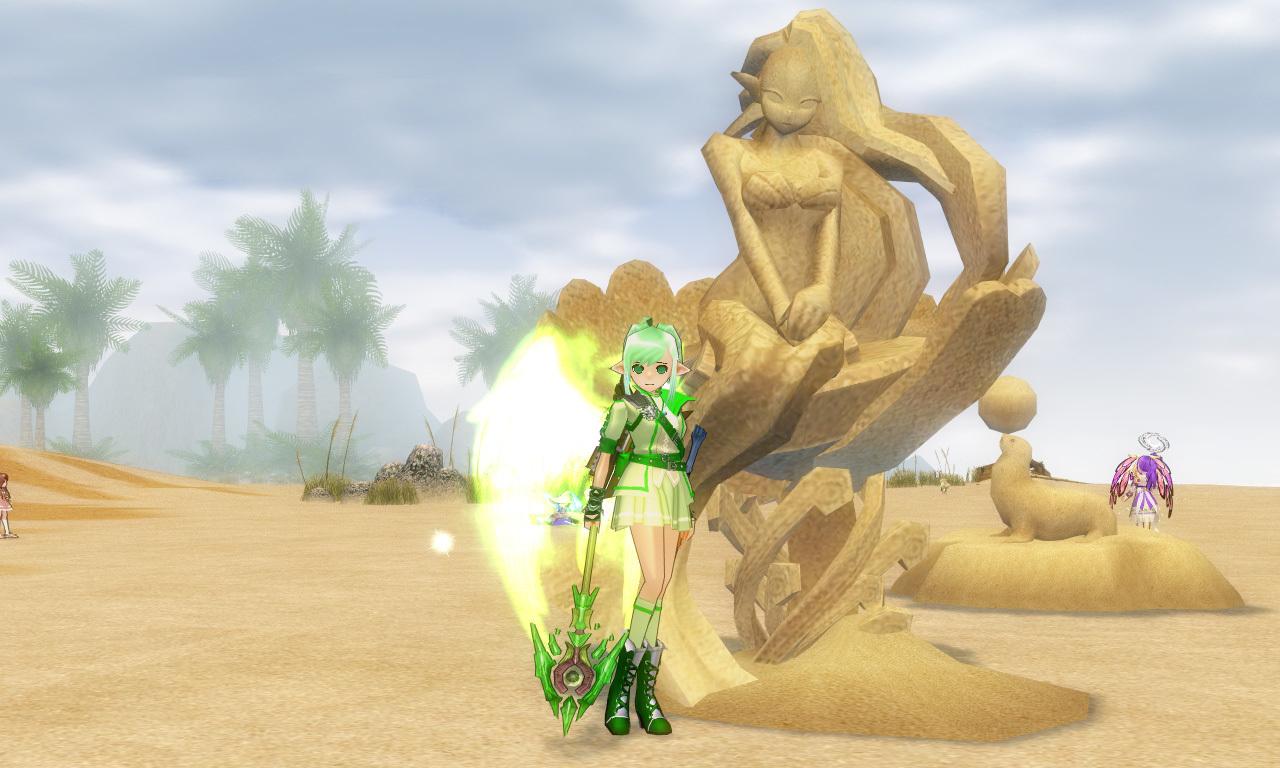 砂の彫刻5