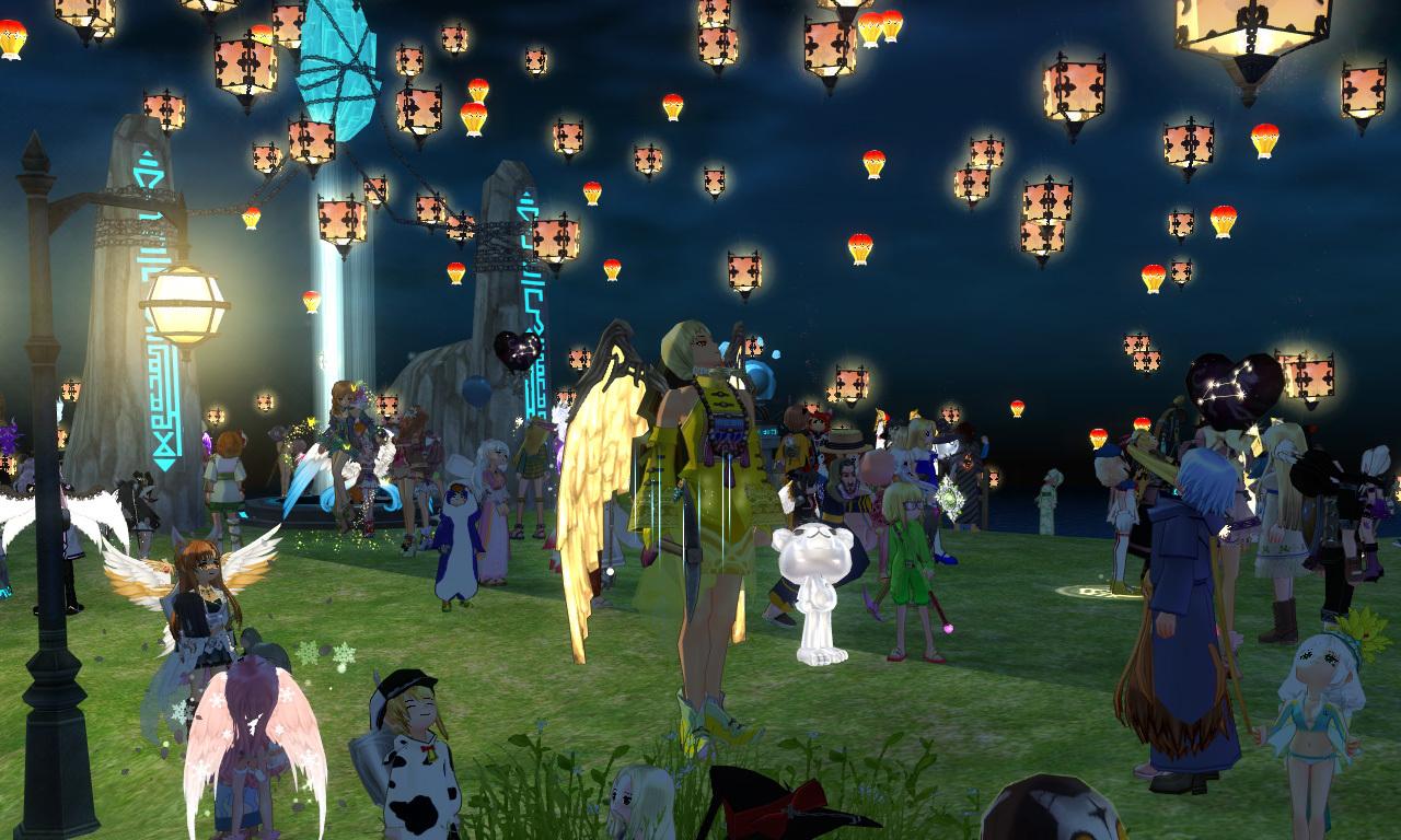 天灯お祭りイベント2