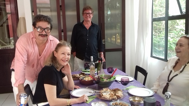 lunch chez Michelle et Othello