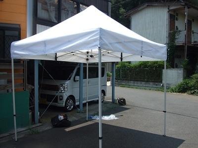 イベント用テント白