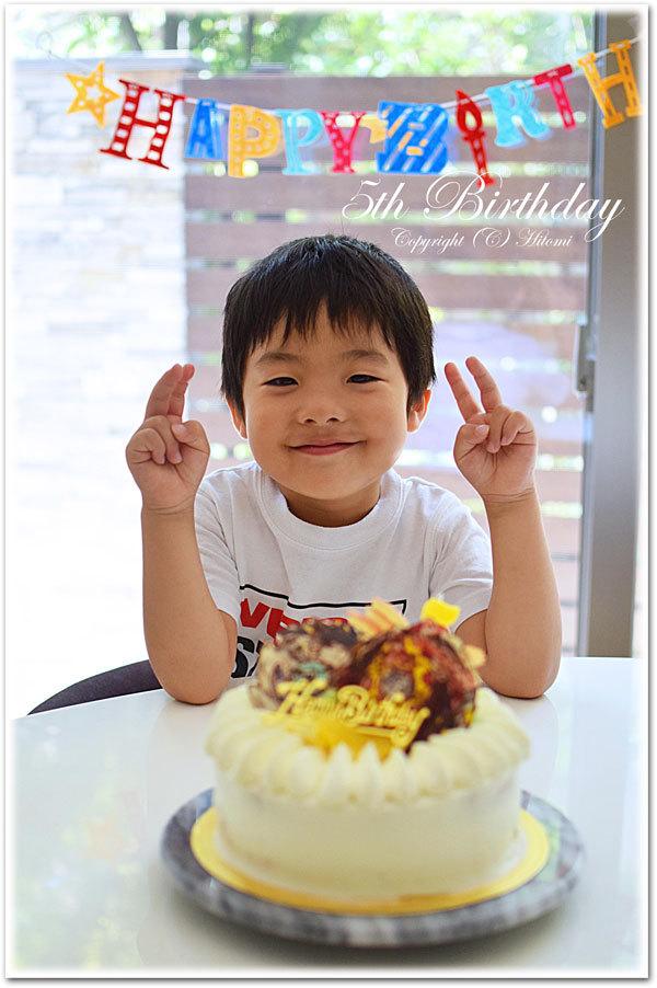 次男君☆5歳誕生日