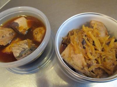 生姜と煮る2