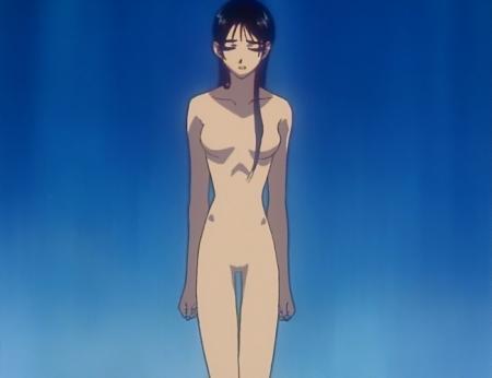 からくりの君 文渡蘭菊の全裸ヌード水浴び入浴シーン12