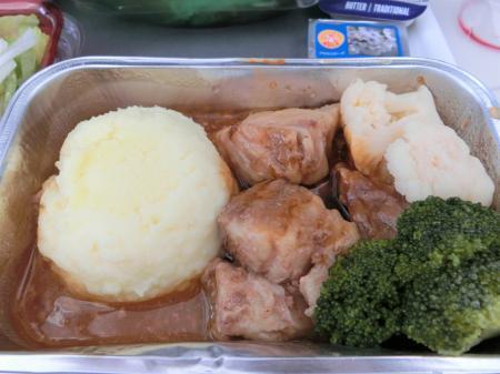 LOTポーランド航空 機内食2