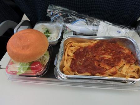 LOTポーランド航空 機内食10