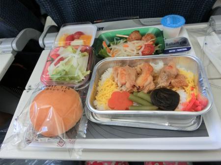 LOTポーランド航空 機内食7
