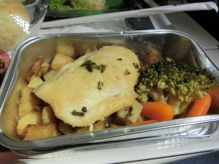 LOTポーランド航空 機内食12