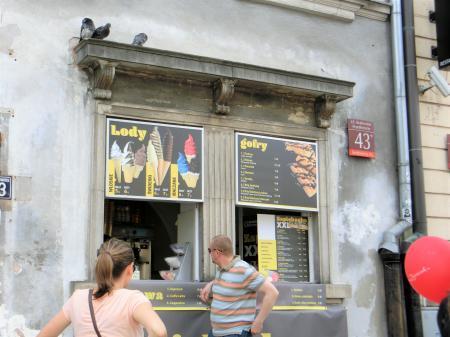 ポーランド アイスクリーム1