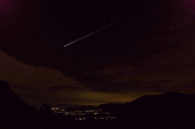 ふたご座流星群のイメージ