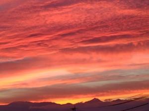 綺麗な夕焼け1708