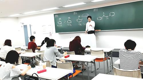 夏期講習 化学