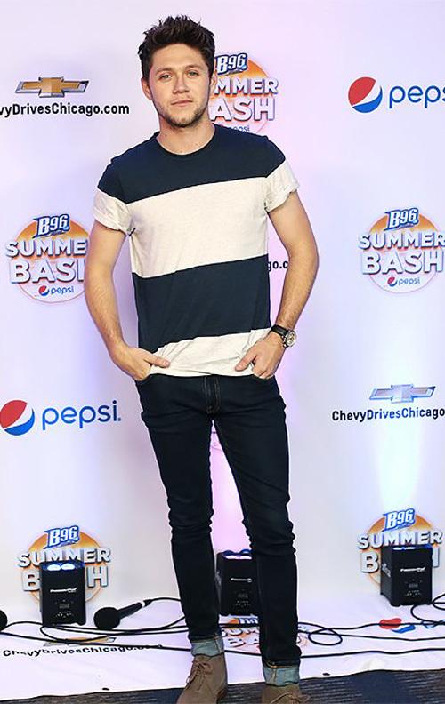 ナイル・ホーラン(Niall Horan):オリバー・スペンサー(Oliver Spencer)/ヌーディージーンズ(Nudie Jeans)