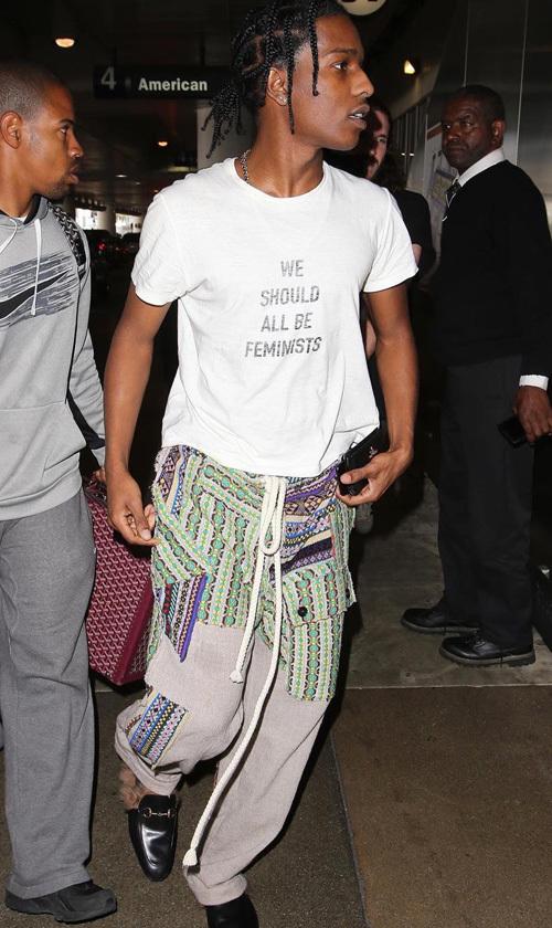 エイサップ・ロッキー(A$AP Rocky):ディオール(Dior)/ロエベ(LOEWE)/グッチ(Gucci)